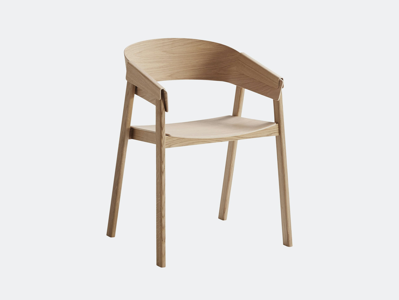 Muuto Cover Chair Oak Thomas Bentzen