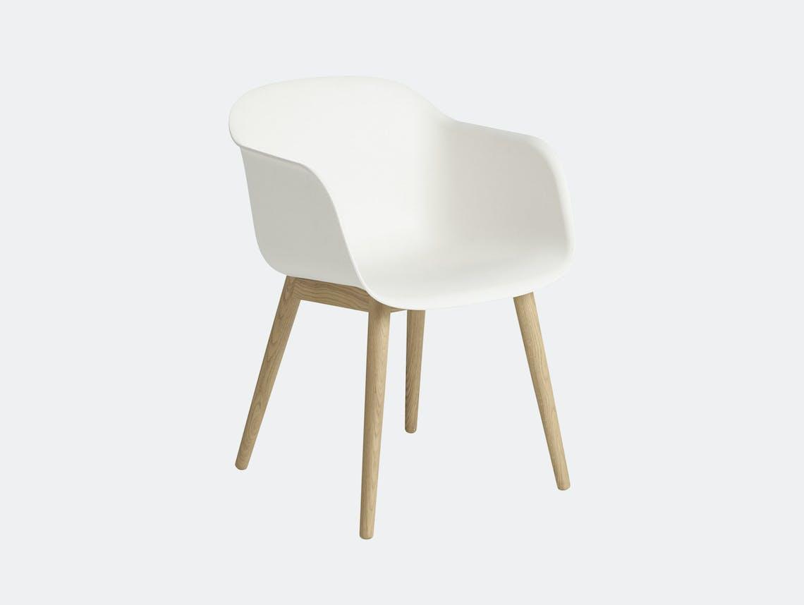 Muuto Fiber Chair Wood Base White Oak Iskos Berlin