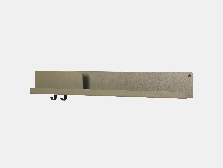 Muuto Folded Shelf Large Olive Johan Van Hengel