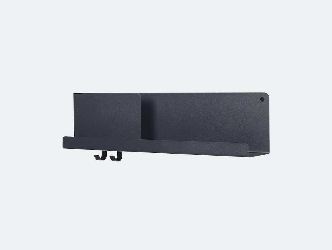 Muuto Folded Shelf Medium Black Johan Van Hengel