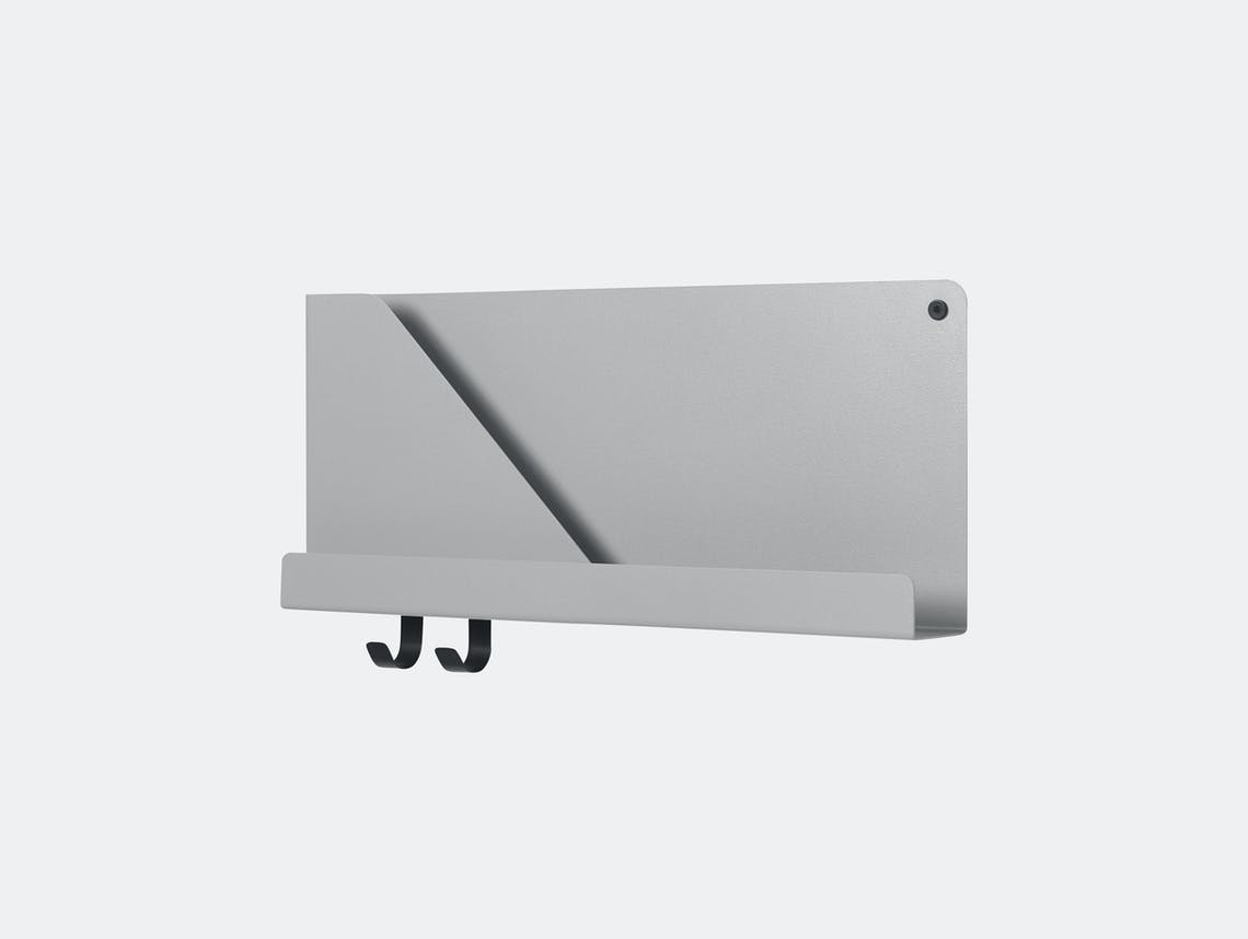 Muuto Folded Shelf Small Grey Johan Van Hengel