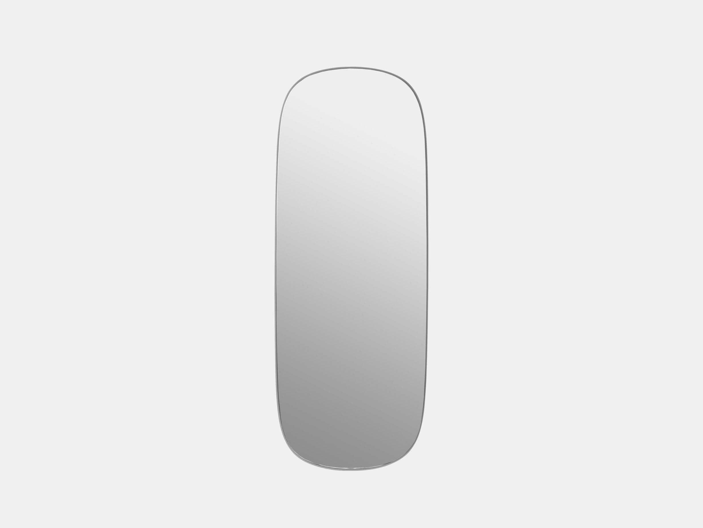 Muuto Framed Mirror Large Grey Anderssen Voll