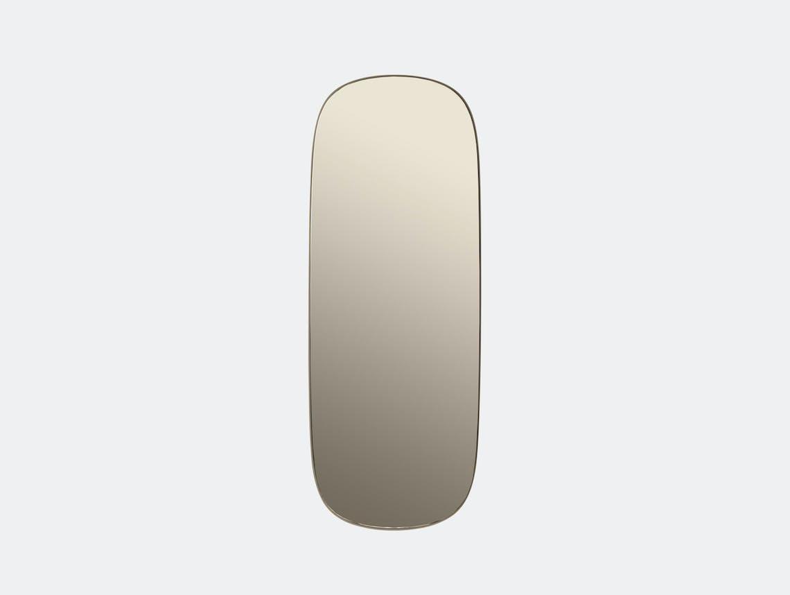 Muuto Framed Mirror Large Taupe Anderssen Voll