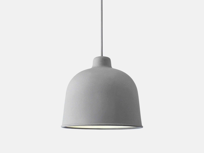 Muuto Grain Pendant Lamp Grey Jens Fager