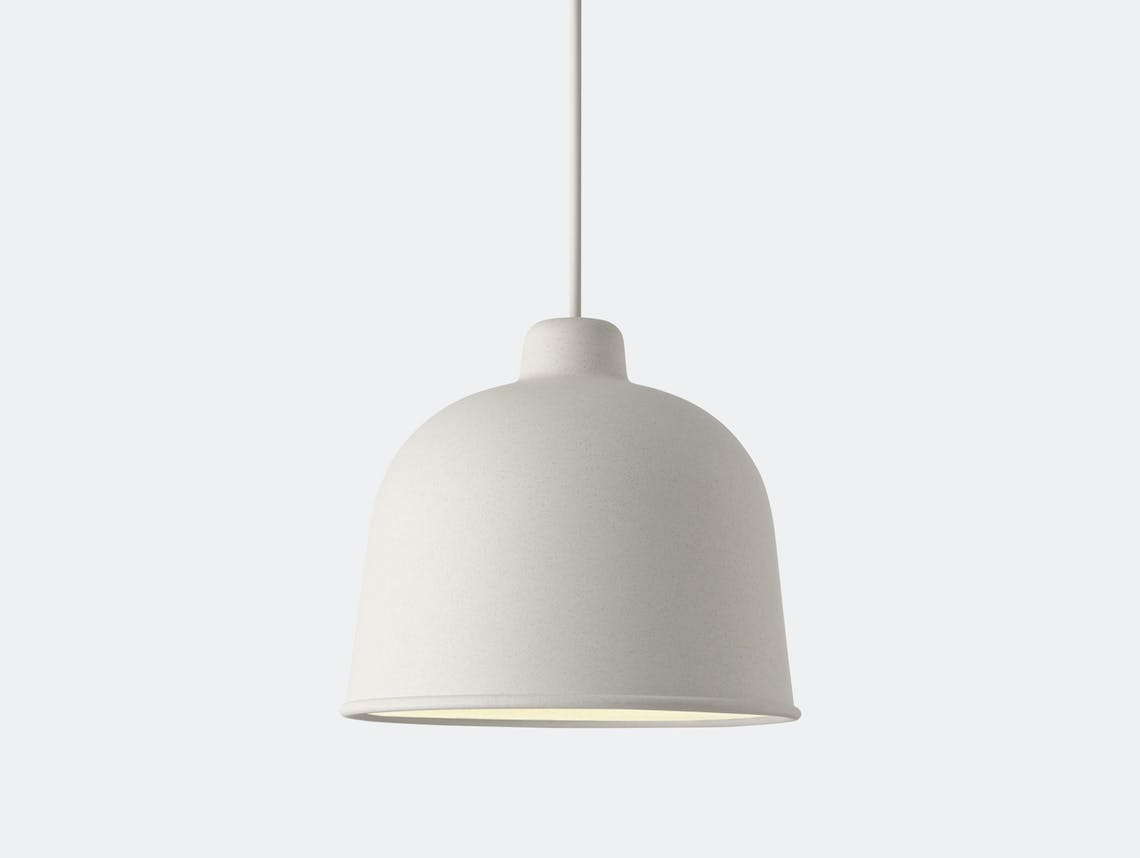 Muuto Grain Pendant Lamp White Jens Fager