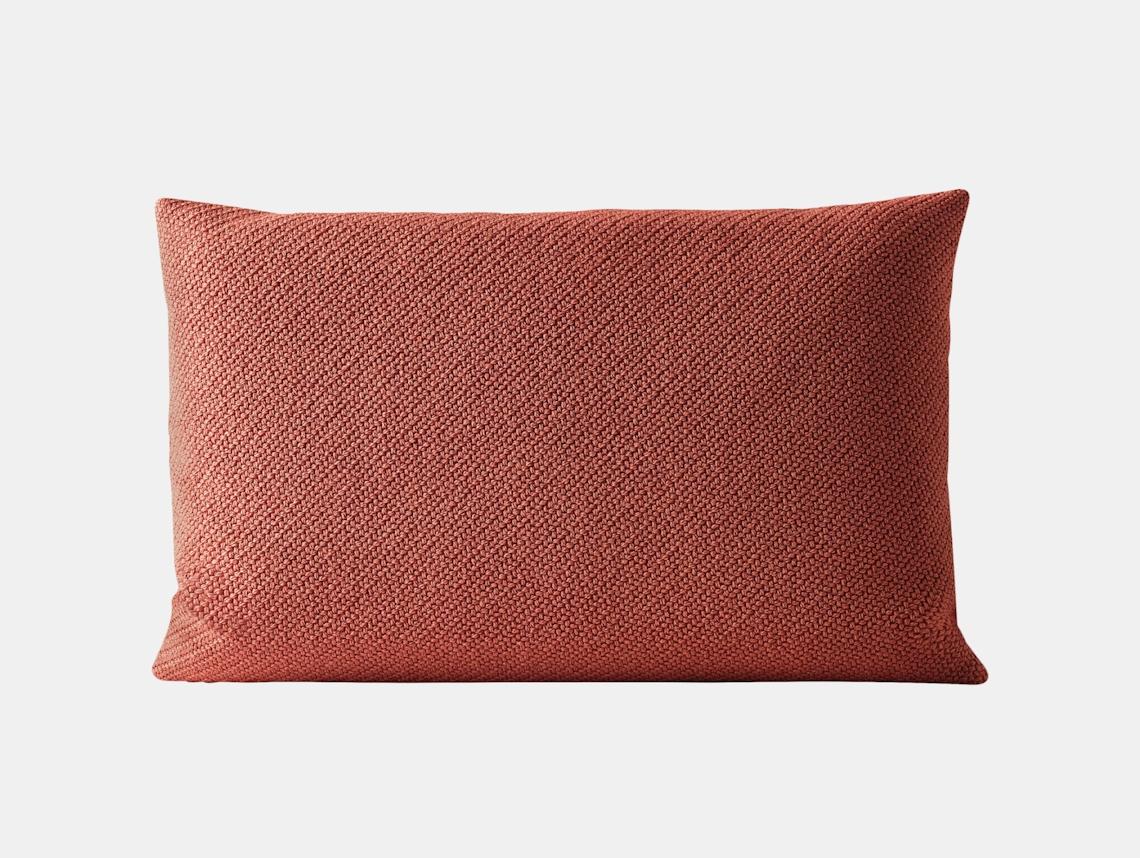 Muuto Mingle Cushion 40X60 Red Thomas Bentzen