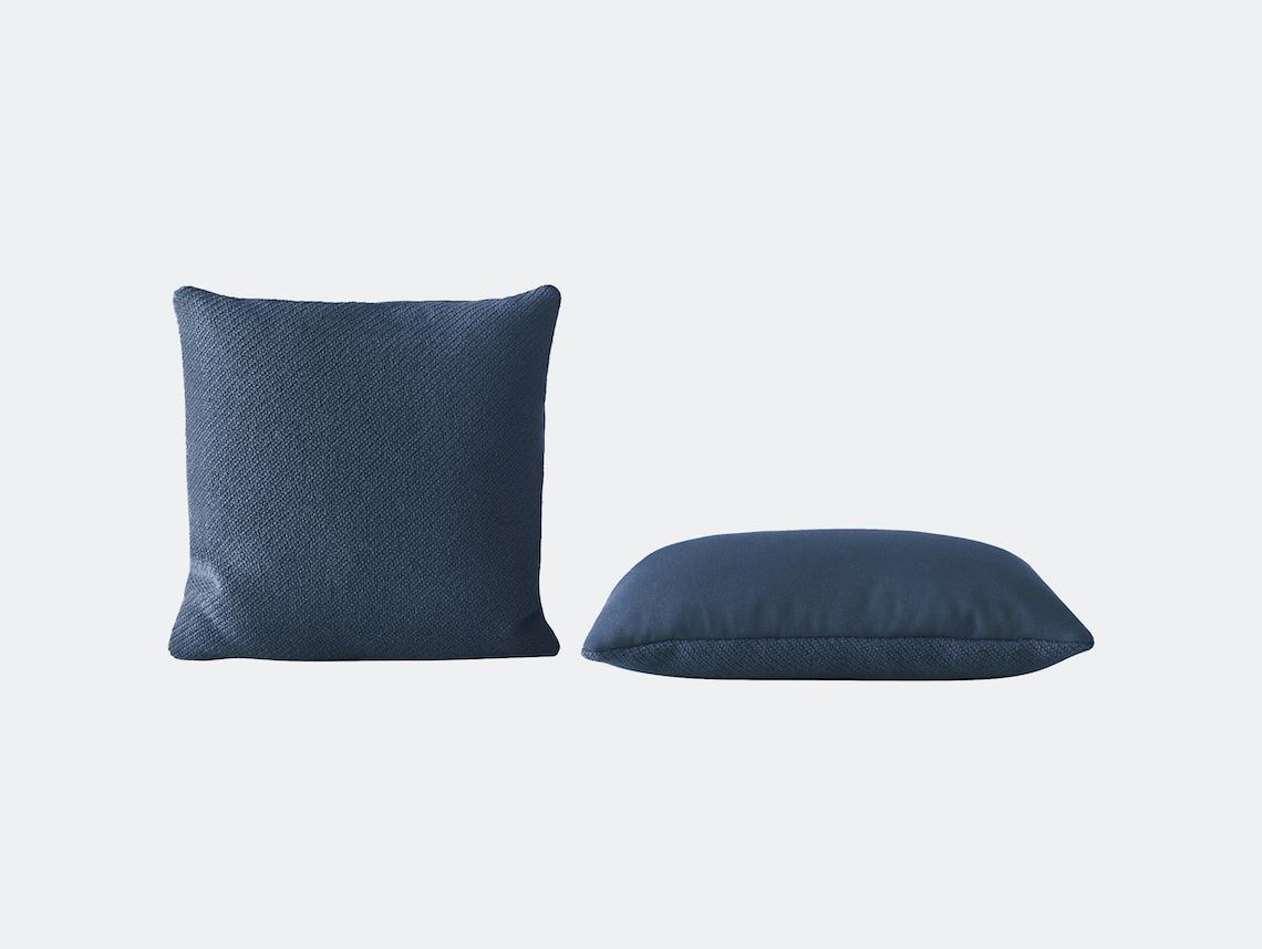 Muuto Mingle Cushion Blue Thomas Bentzen