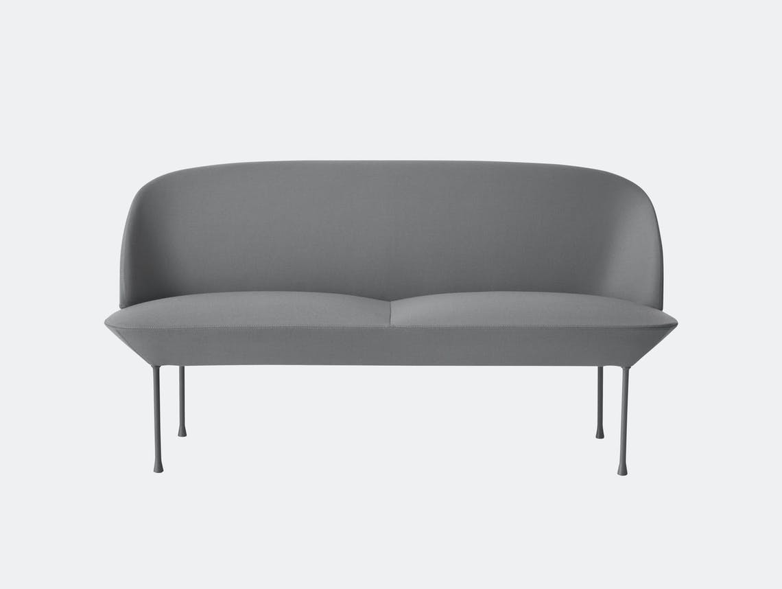 Muuto Oslo Sofa 2 Seater Steelcut 2 160 Anderssen Voll