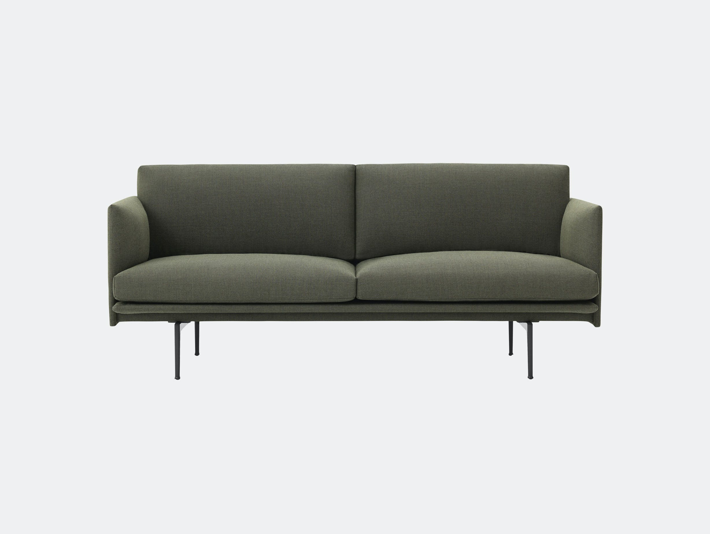 Muuto Outline 2 Seater Fiord 961 Anderssen Voll