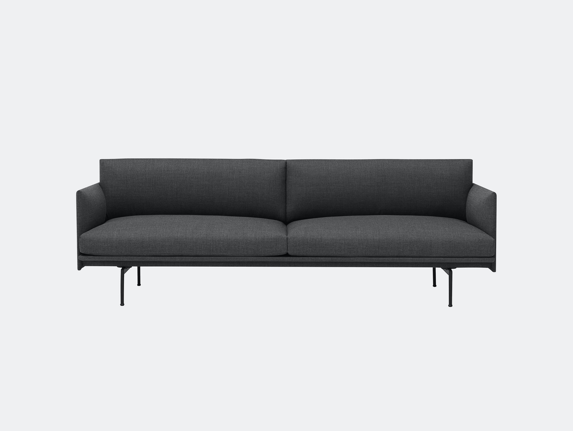 Muuto Outline Sofa 3 Seater Remix 0163 Anderssen Voll
