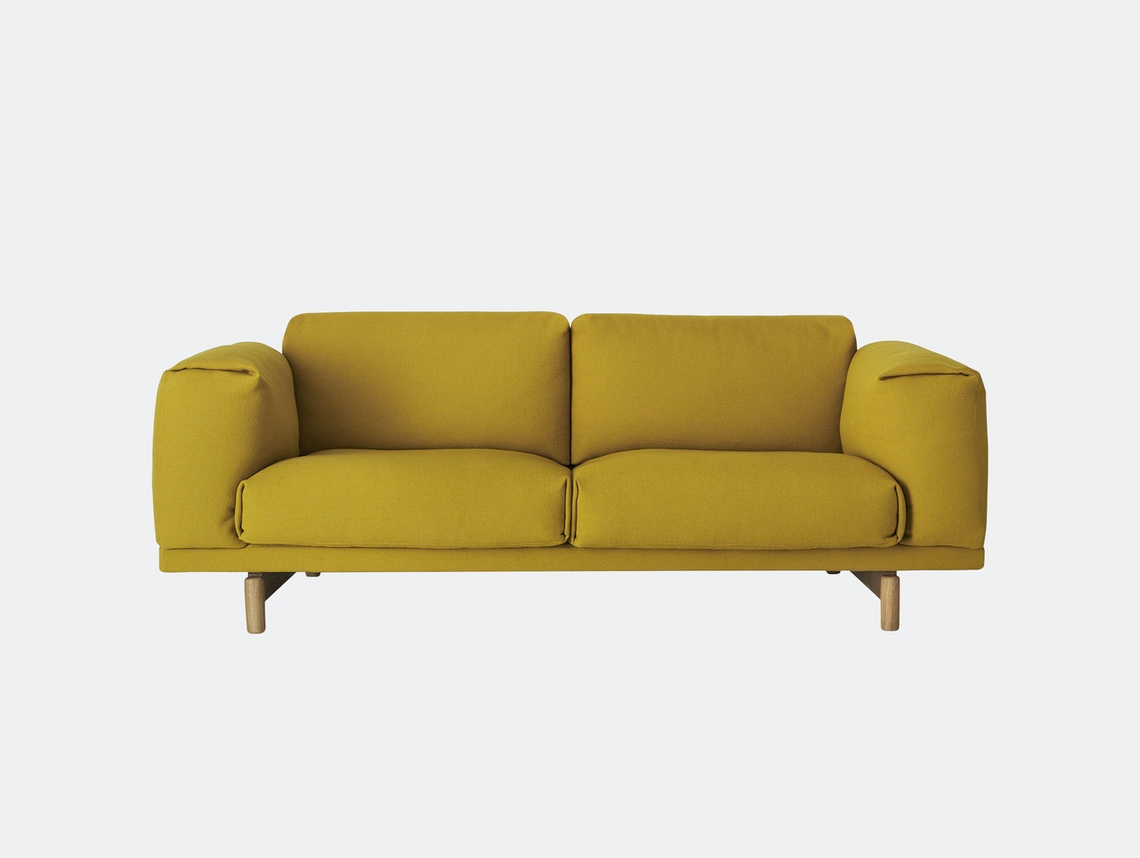 Muuto Rest Sofa 2 Seater Hallingdal 457 Anderssen Voll