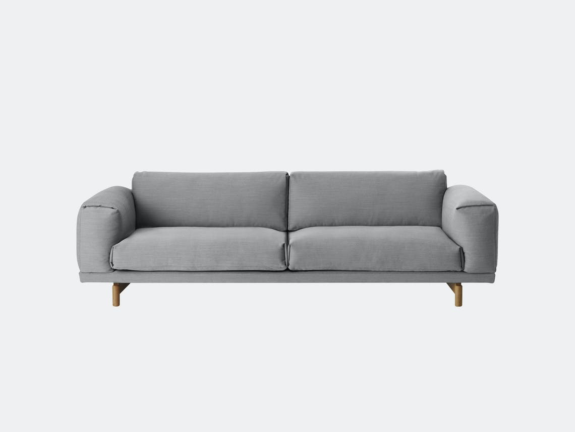 Muuto Rest Sofa Steelcut Trio133 Light Grey Anderssen Voll