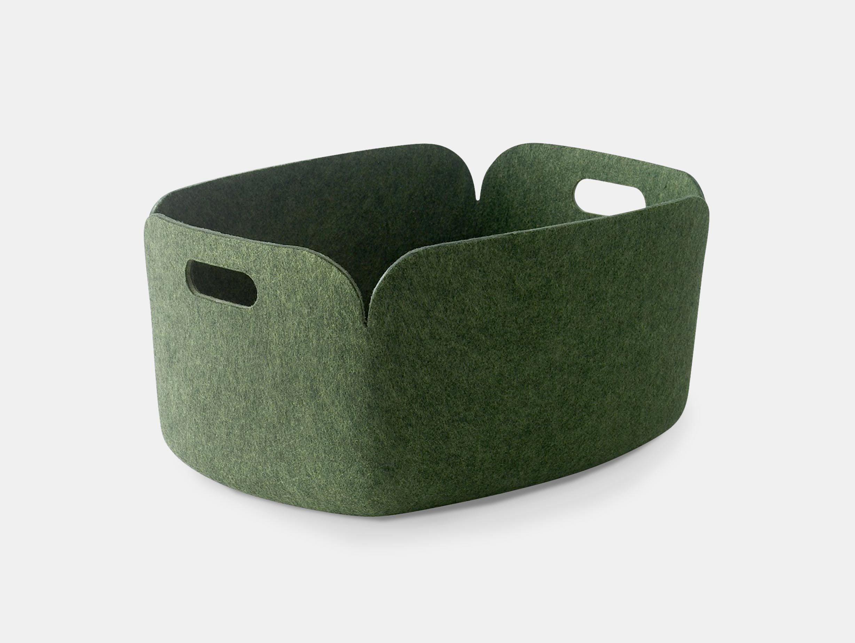 Muuto Restore Basket Green