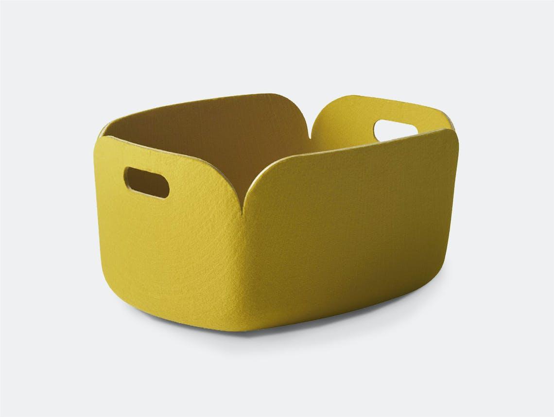 Muuto Restore Basket Yellow