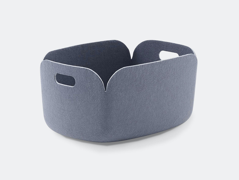 Muuto Restore Basket blue grey