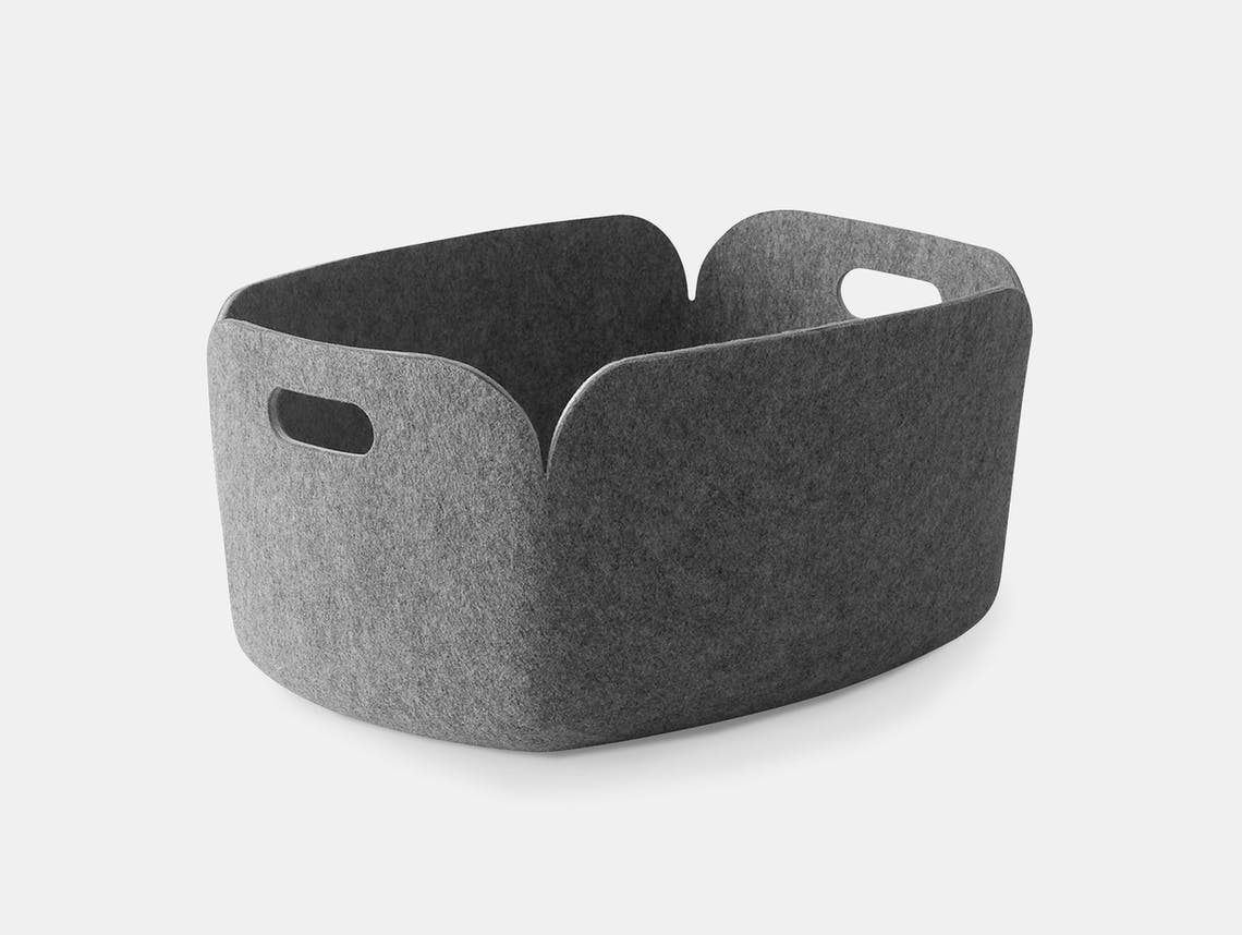 Muuto Restore Basket grey