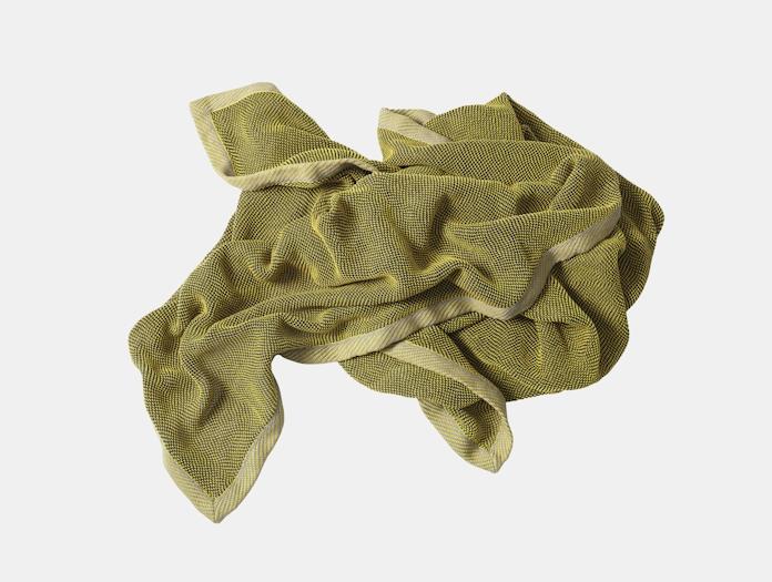 Muuto Ripple Throw Yellow 3 Margrethe Odgaard