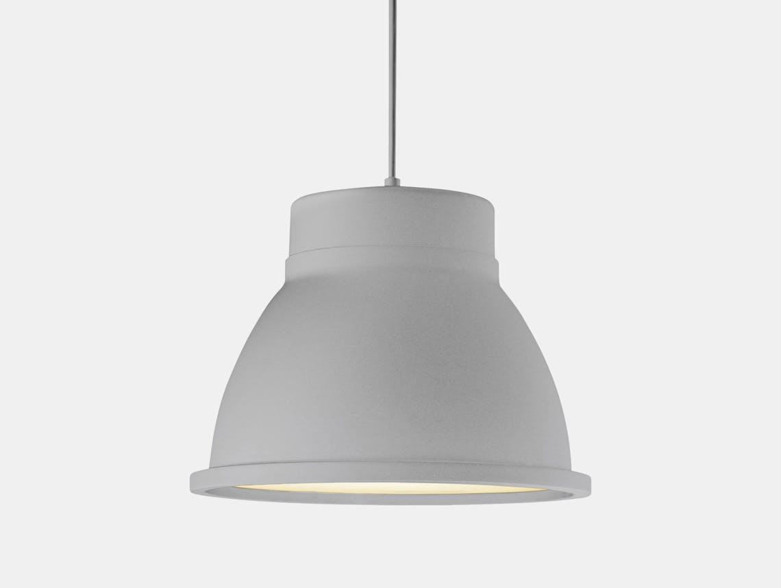 Muuto Studio Lamp Grey Thomas Bernstrand