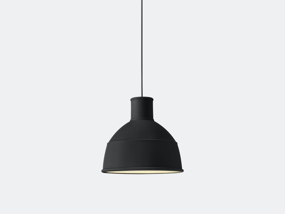 Muuto Unfold Pendant Lamp Black Form Us With Love