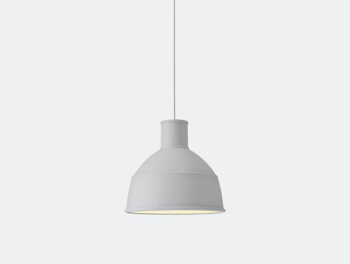 Muuto Unfold Pendant Lamp Light Grey Form Us With Love