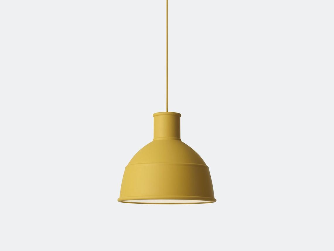 Muuto Unfold Pendant Lamp Mustard Form Us With Love