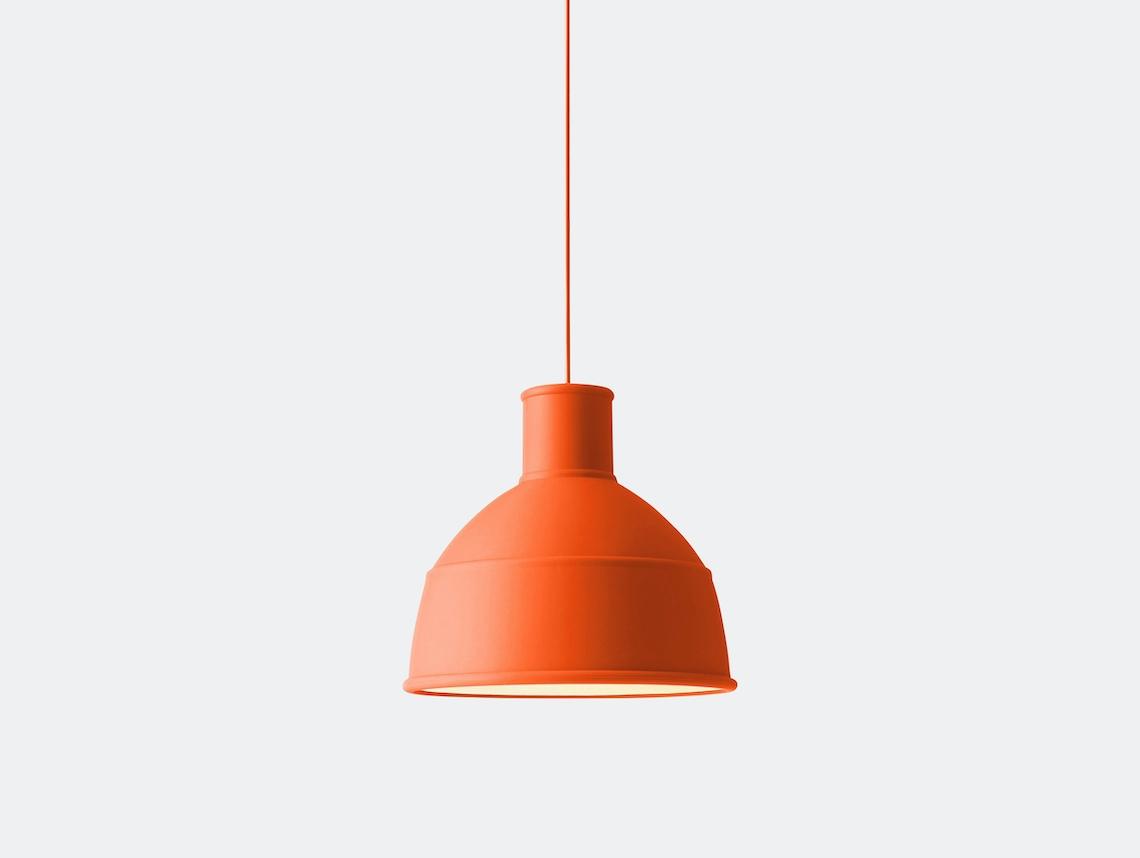 Muuto Unfold Pendant Lamp Orange Form Us With Love