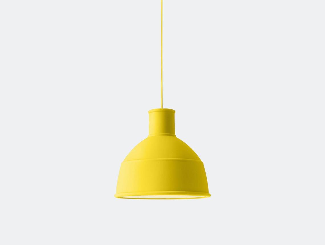Muuto Unfold Pendant Lamp Yellow Form Us With Love