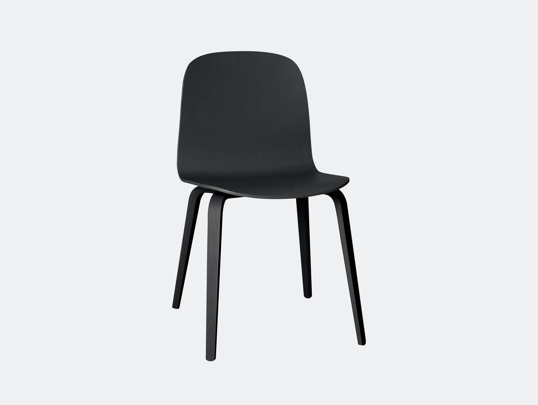 Muuto Visu Chair Black Mika Tolvanen