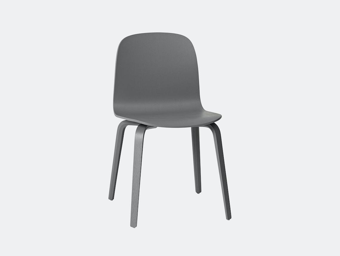 Muuto Visu Chair Dark Grey Mika Tolvanen