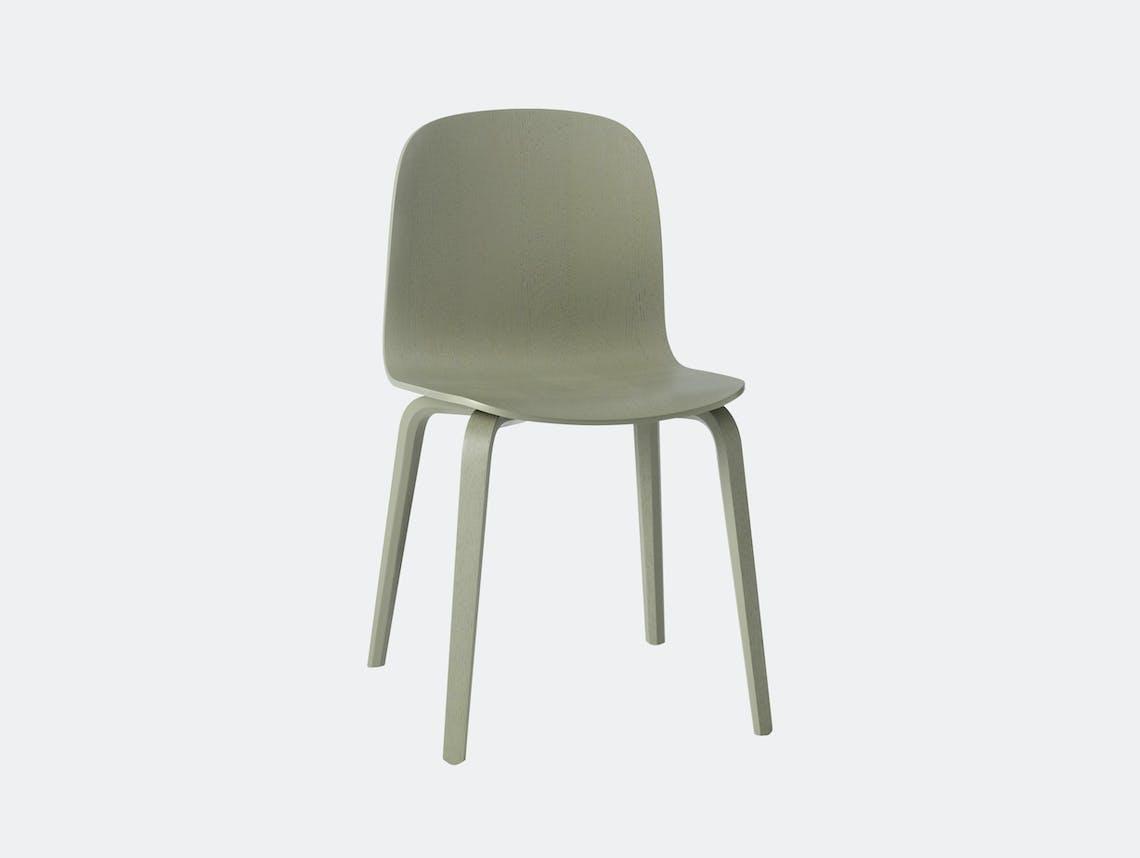Muuto Visu Chair Dusty Green Mika Tolvanen