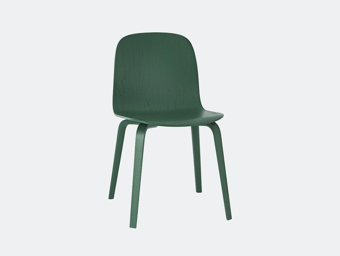 Muuto Visu Chair Green Mika Tolvanen