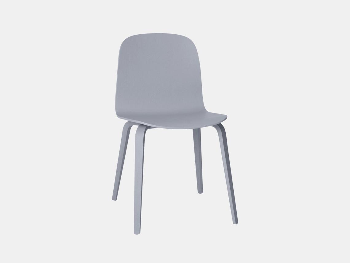 Muuto Visu Chair Grey Mika Tolvanen