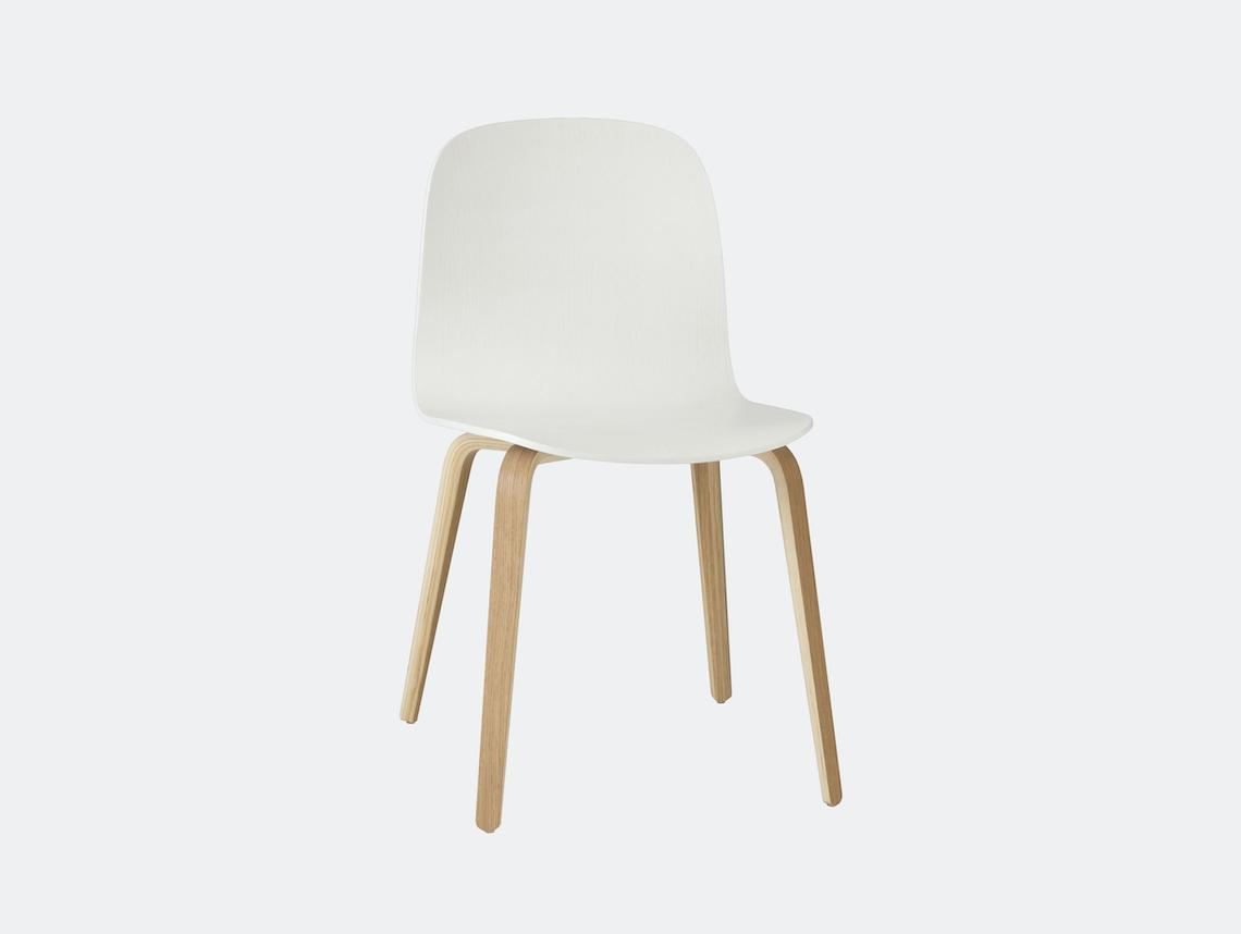 Muuto Visu Chair Oak White Mika Tolvanen