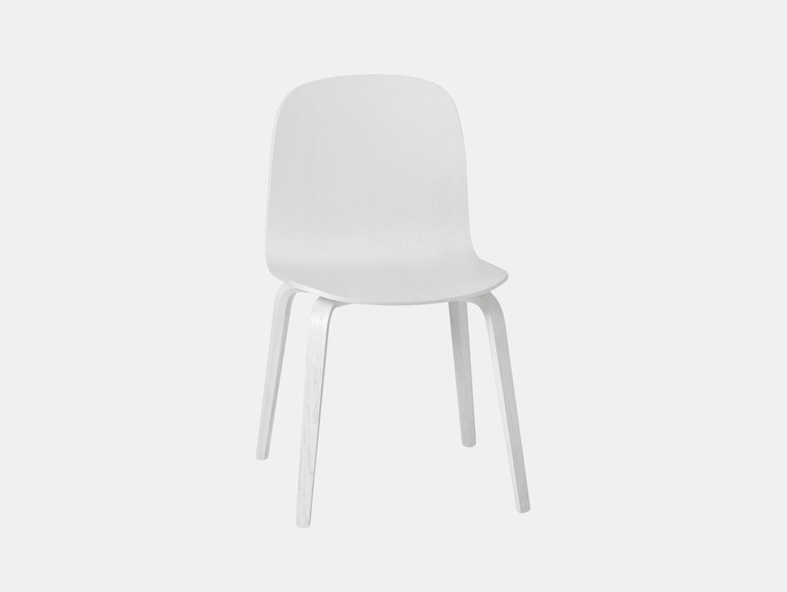 Muuto Visu Chair White Mika Tolvanen