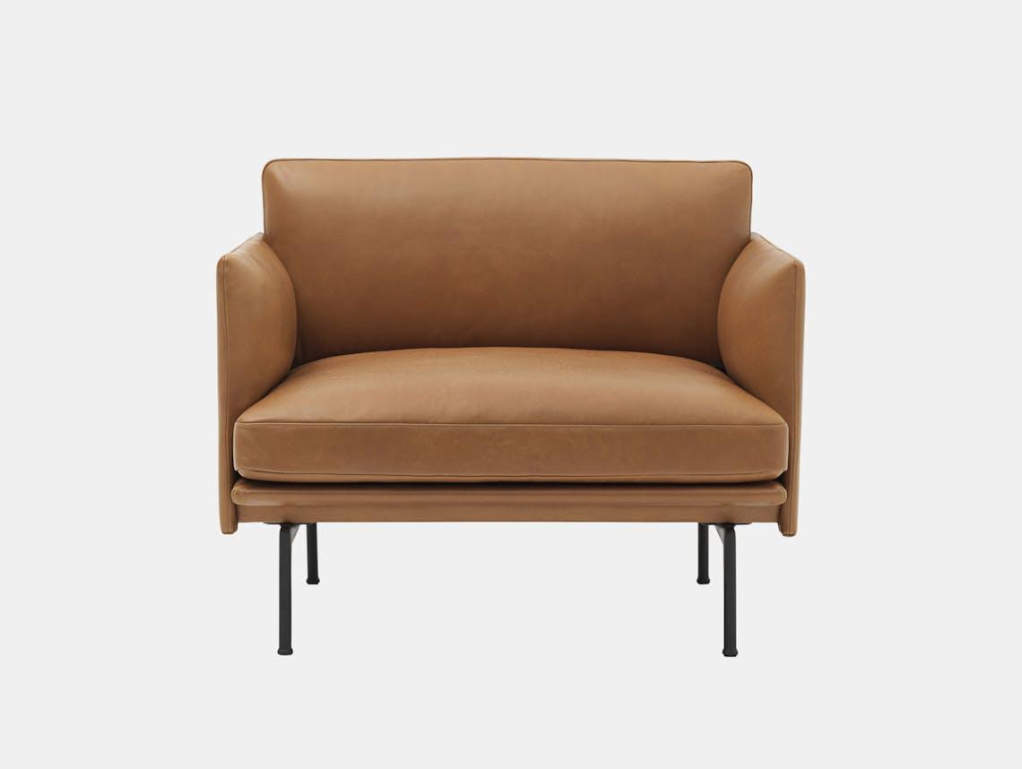 Outline Chair Cognac Silk Anderssen Voll