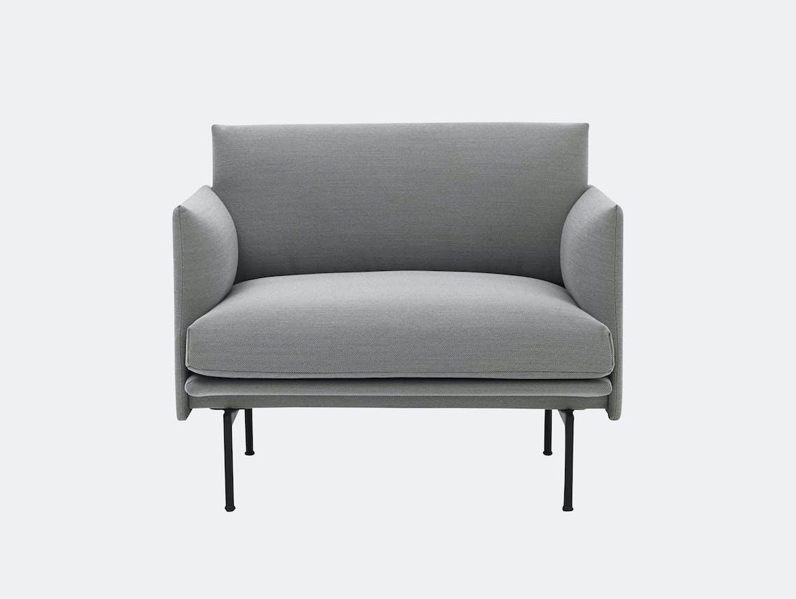 Outline Chair Steelcut Trio 133 Anderssen Voll