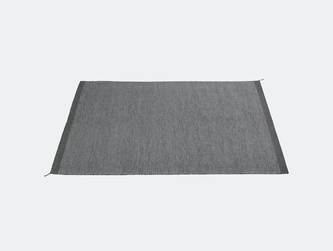 Ply Rug Dark Grey 170X240 Med Res