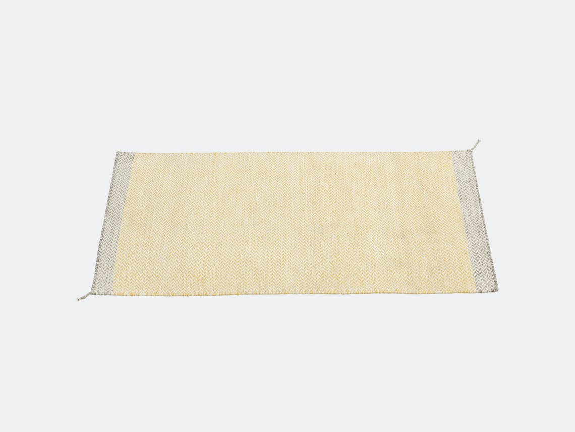 Ply Rug Yellow 85X140 0261 Med Res