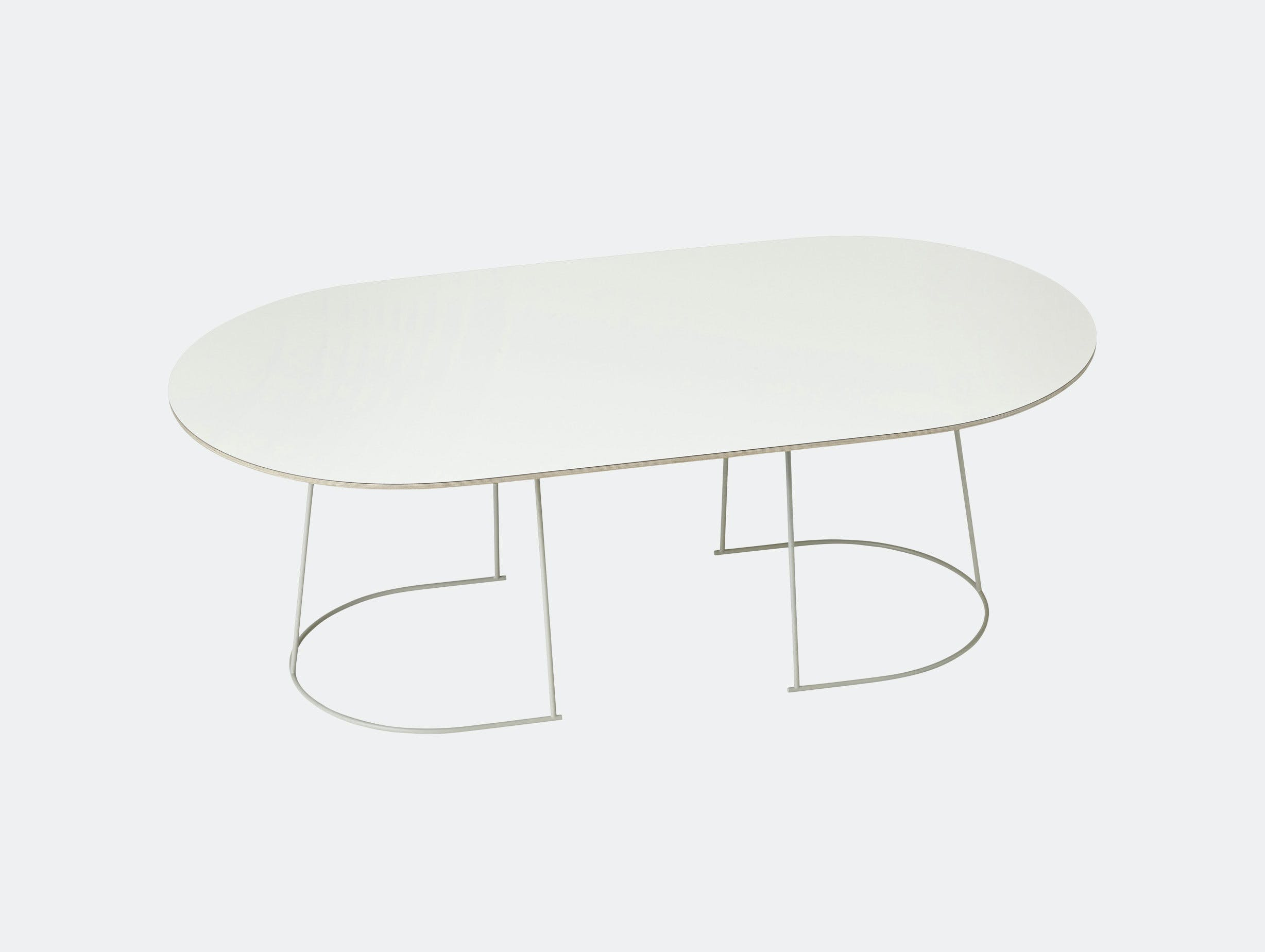 Muuto Airy Coffee Table Large Off White Cecilie Manz