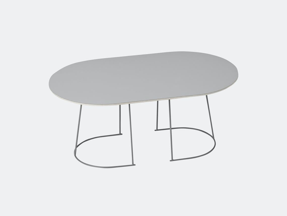 Muuto Airy Coffee Table Medium Grey Cecilie Manz