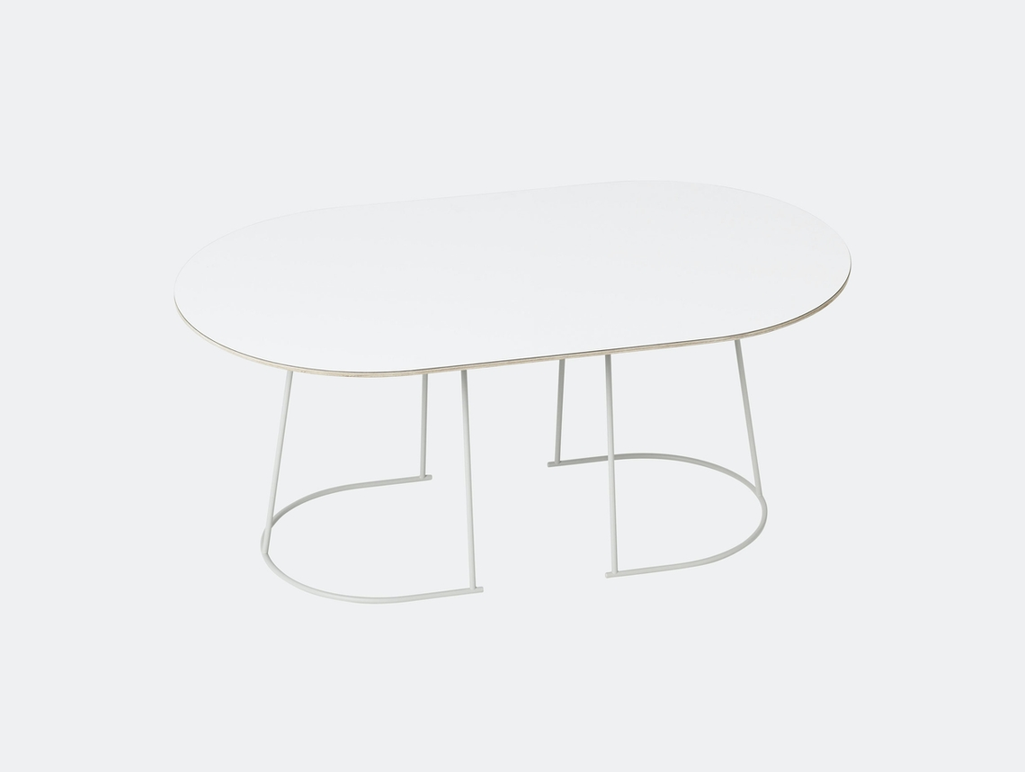 Muuto Airy Coffee Table Medium Off White Cecilie Manz