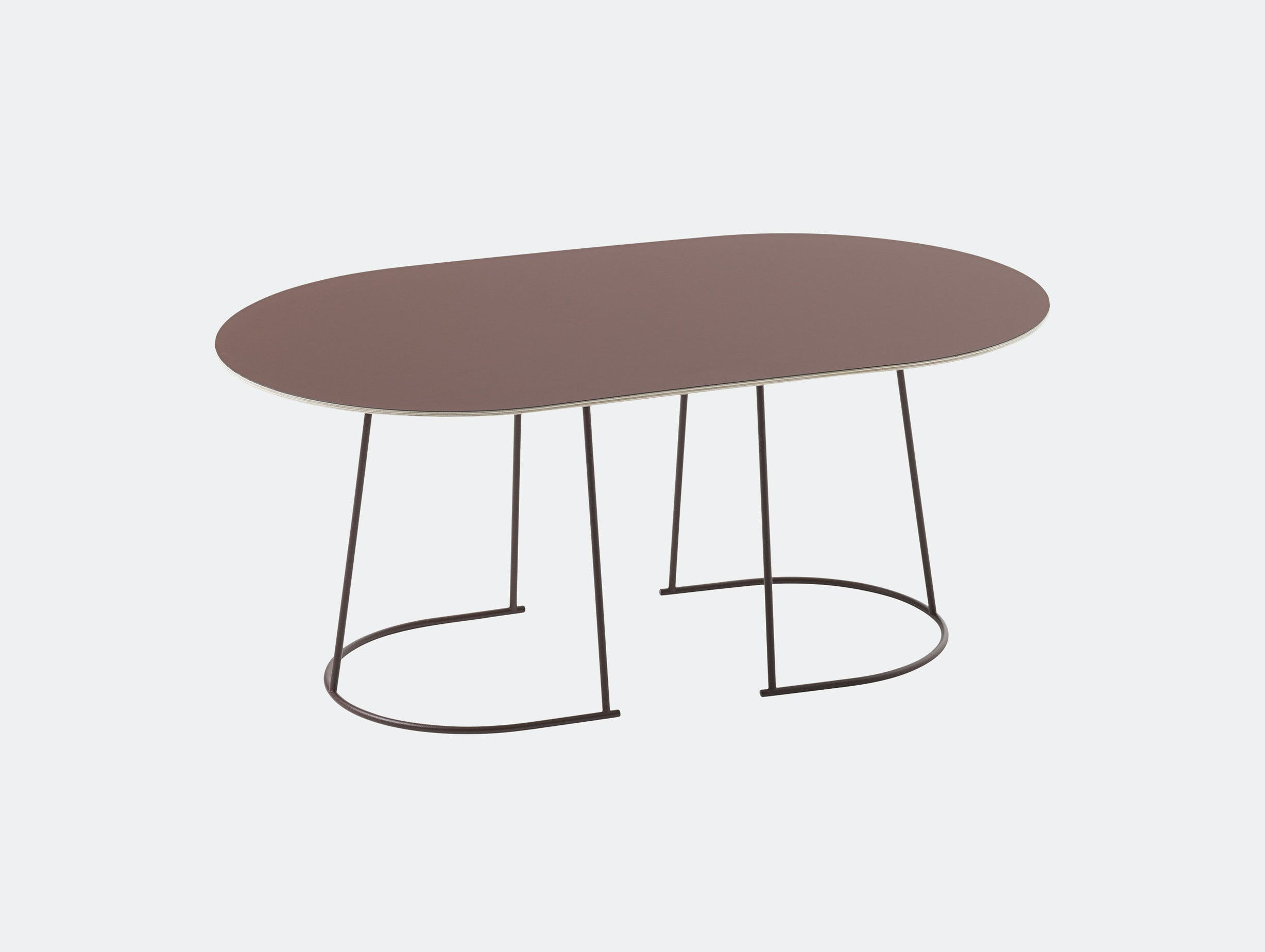 Muuto Airy Coffee Table Medium Plum Cecilie Manz