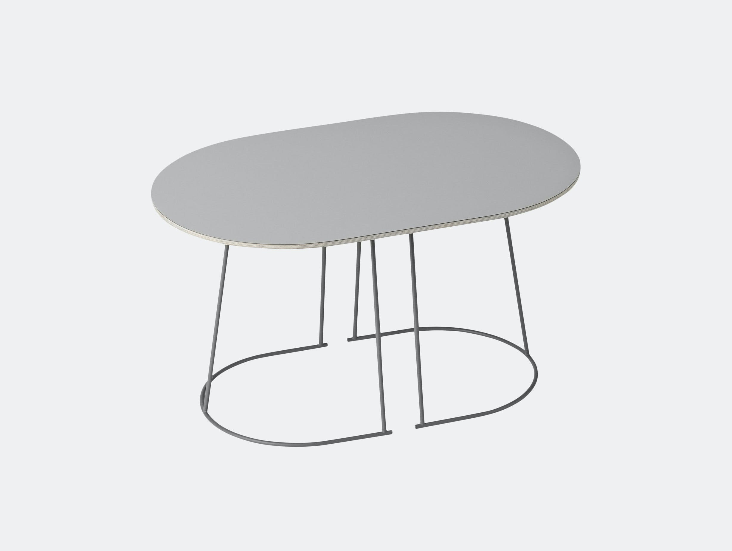 Muuto Airy Coffee Table Small Grey Cecilie Manz