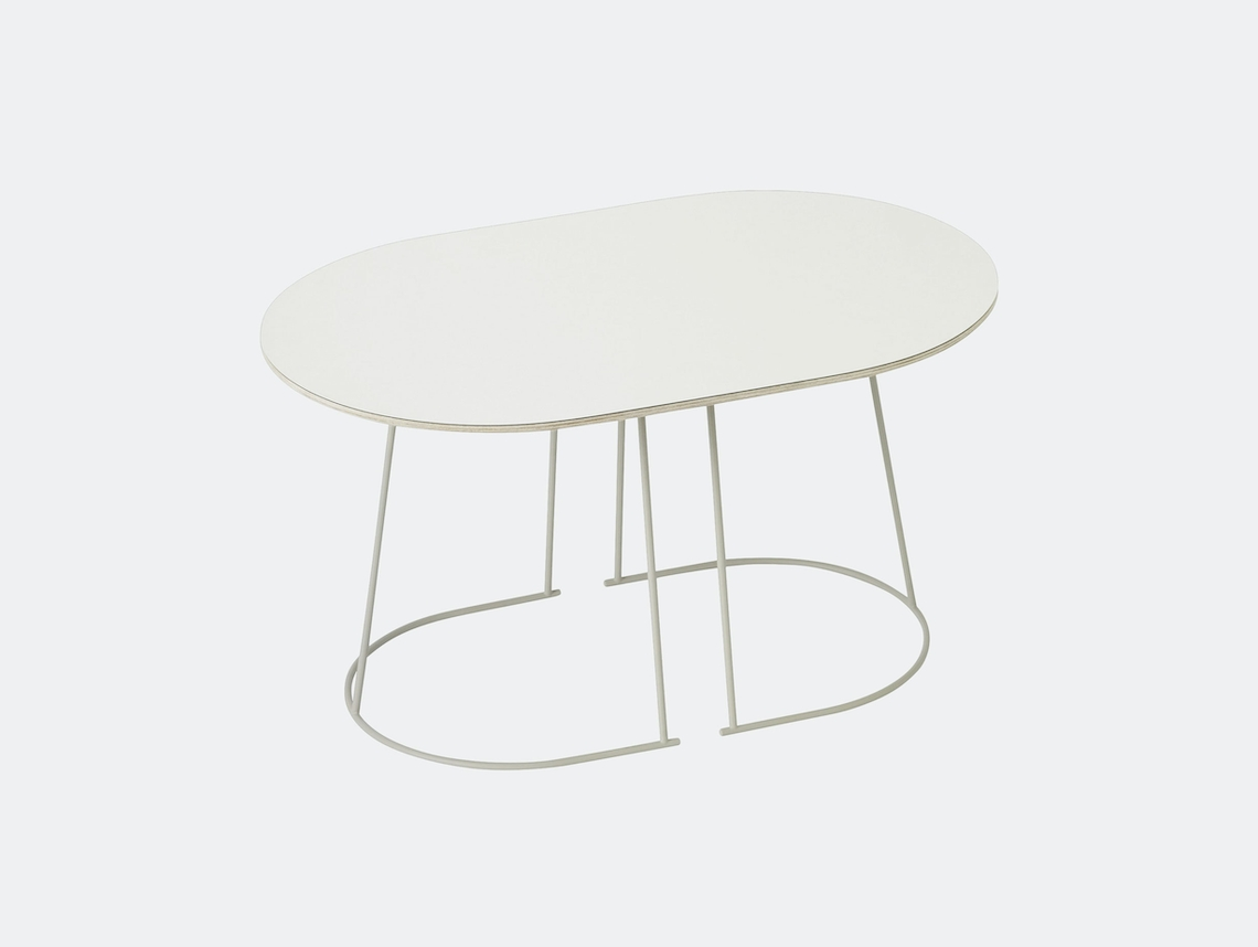Muuto Airy Coffee Table Small Off White Cecilie Manz