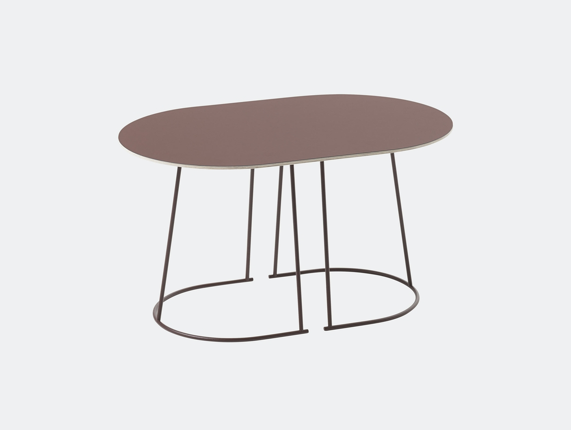 Muuto Airy Coffee Table Small Plum Cecilie Manz