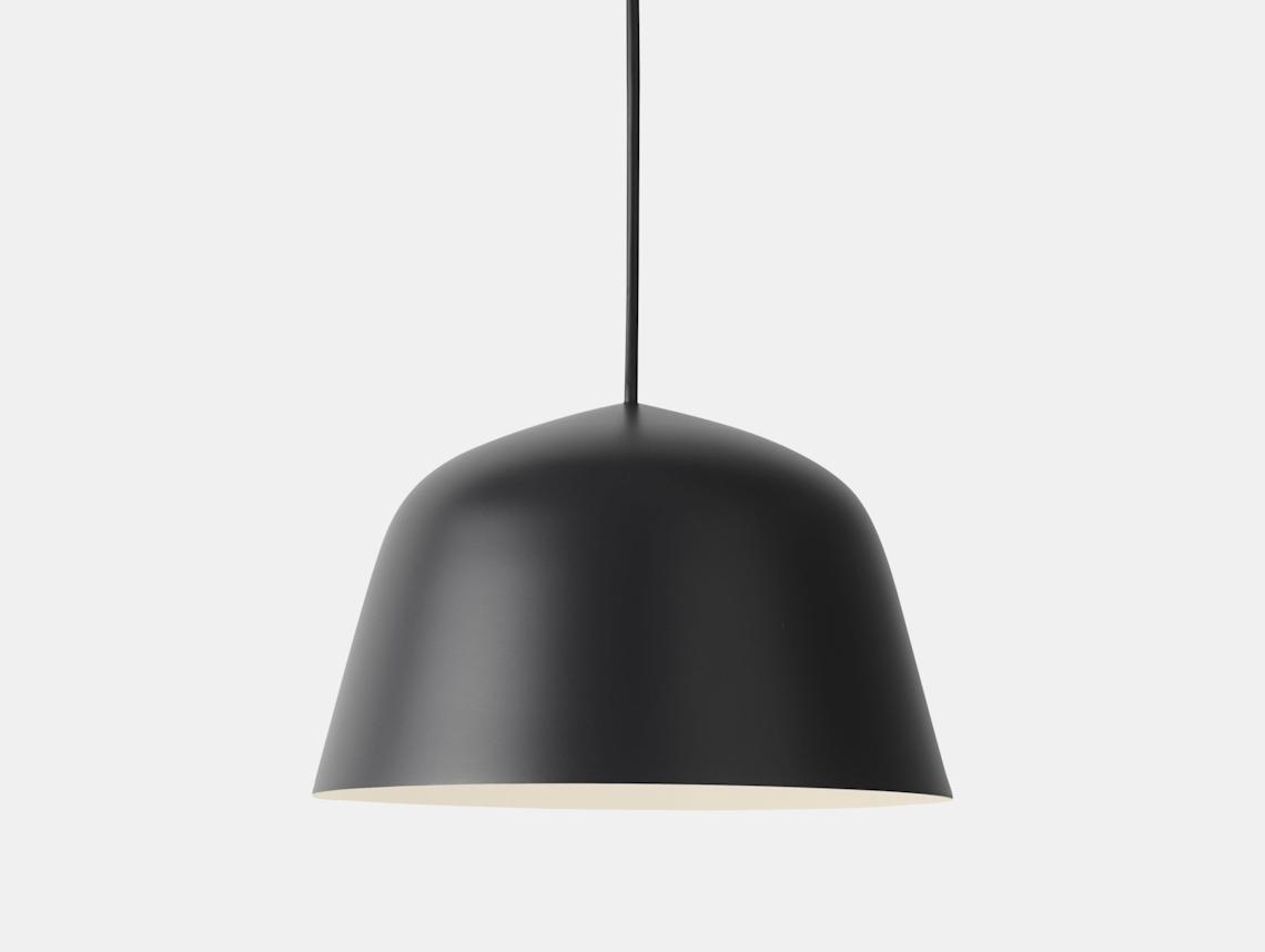Muuto Ambit Pendant Lamp Black Taf Studio