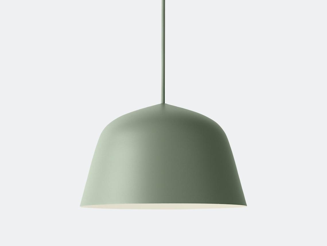 Muuto Ambit Pendant Lamp Dusty Green Taf Studio