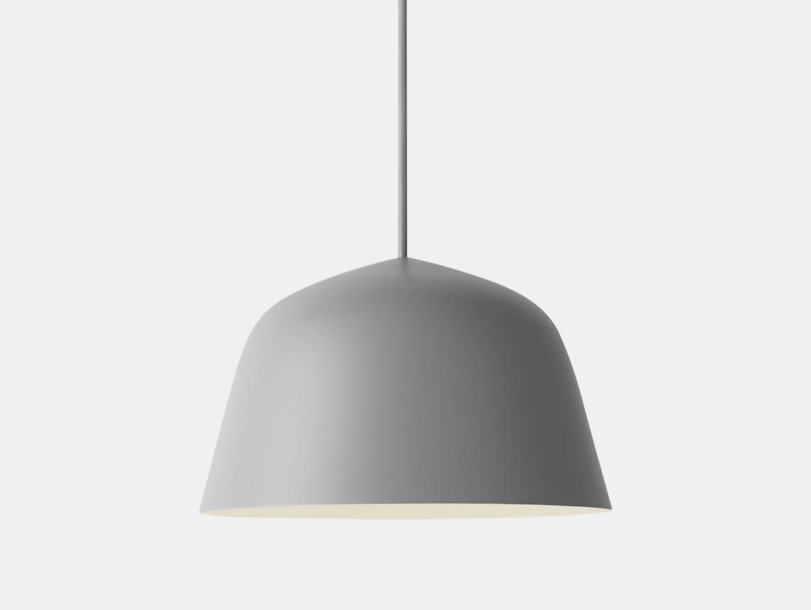 Muuto Ambit Pendant Lamp Grey Taf Studio