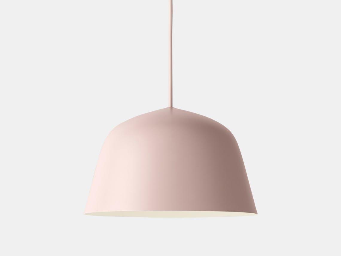 Muuto Ambit Pendant Lamp Rose Taf Studio