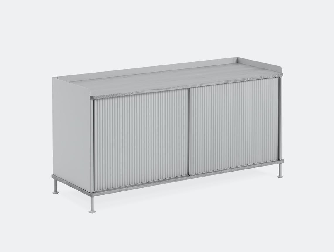 Muuto enfold low sideboard grey all